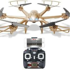 2.4G MJX X601H 6 Gyro 4CH RC Toys Hexacopter Drone Helicopter+C4015 FPV Camera