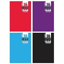 New 2016 -2017 Year Academic Student Casebound Diary Week to View A5 Size 3195
