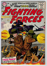 OUR FIGHTING FORCES #14 3.5 OW/W PAGES SILVER AGE
