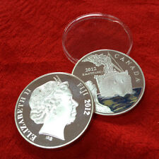 1 Ounce .999 Silver Plated Coin Canada Titanic White Star Liner Free Capsule