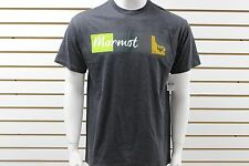 Men's Marmot 5.15 Tee Short Sleeve Charcoal Heather 59600 Brand New With Tag
