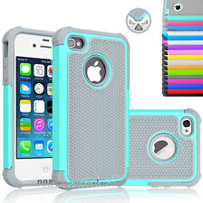 Hybrid Shockproof Rugged Rubber Hard Cover Case Skin for Apple iPhone 5 5s 5SE
