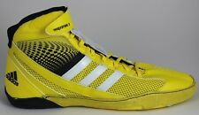 Men's Adidas Response 3.1 Wrestling Shoes Yellow/White/Black M18789 Brand New!!!