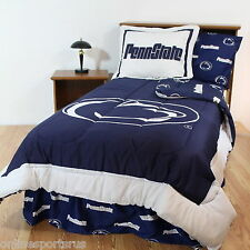 Penn State Bed in a Bag Twin Queen King Size Comforter Set CC