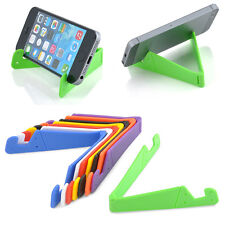 Foldable Mobile Cell Phone Desktop Holder Stand Bracket For Smartphone Tablet PC