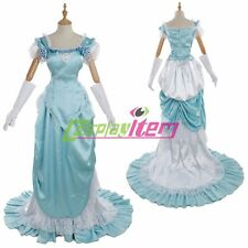 Light Blue 1860s Civil Wars Dress Southern Belle Ball Gown Dress Costume