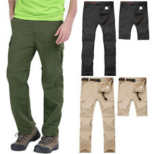 Men Summer Outdoor Rainproof Lightweight Pants Mountain Hiking Climbing Trousers
