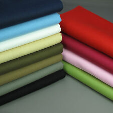 100% Pure Cotton CANVAS fabric medium weight 114cm wide per metre High Quality