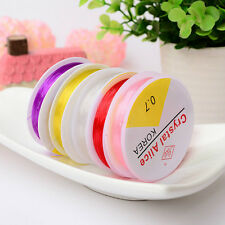 8m Strong Stretch Spool Elastic String Cord for Jewelry Beads Crafts 0.7/0.8mm