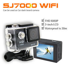 "SJ4000 WIFI Sports DV 1080P HD Video Action Camera 2"" Camcorder + 2 Batteries"