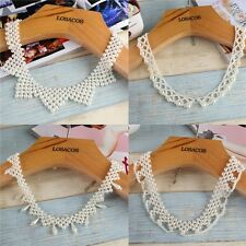 Fashion Choker Necklace Imitation Pearl Beads Fake Collar For Wedding Party