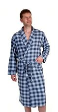 Haigman Men's Cotton Dressing Gown Bath Robe Kimono Nightwear Loungewear 7395