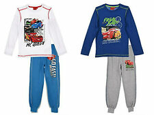 Disney Cars Jogging Set Tracksuit Long Sleeve Clothing Set Outfit Boys Age 2-8Y
