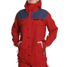 ONEILL FREEDOM BUTTON UP SNOW JACKET Rio Red Oneill Jackets
