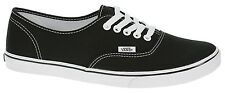 VANS AUTHENTIC LO PRO BLACK TRUE WHITE WOMENS CASUAL SHOES SNEAKERS CLEARANCE