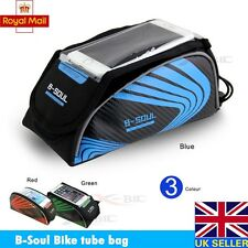 New Bicycle Bike Mobile Phone Holder Phone Frame Pouch Bag Case Carrier Cycle UK