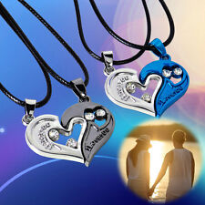 Coupe Lover Necklace Heart Shape Pendant Stainless Steel I LOVE YOU Jewelry