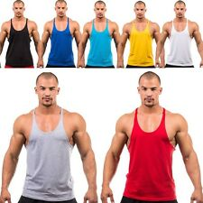Men Gym Body building Tank Tops Sports Fitness Shirts Sleeveless Cotton Vest