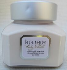 Laura Mercier Fresh Fig Souffle Body Creme 4 OZ NEW Lotion Creme Brulee Salts 6