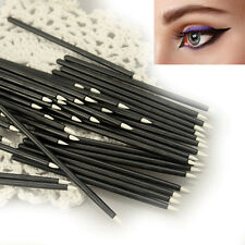 Cool 10/50PCS  Disposable Eyeliner Makeup Wand Applicator Cosmetics Brush Tools