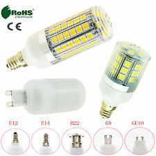 US 5W 9W 13W 5050 SMD LED Corn Bulb E12 E14 E27 E26 B22 G9 GU10 Ultra Light Lamp