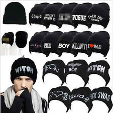 Beanie Knit Hat Cap Boy Girl Gift Winter Hats Nice Acrylic Dance Cool Hip-hop j
