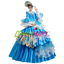 Royal Court Stage Party Costume Medieval Renaissance Ball Gown Wedding Dress