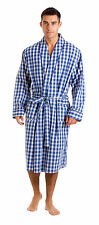 Haigman Men's Cotton Dressing Gown Bath Robe Kimono Nightwear Loungewear 7396