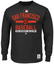 San Francisco Giants MLB Mens Long Sleeve Color Block Shirt Big & Tall Sizes