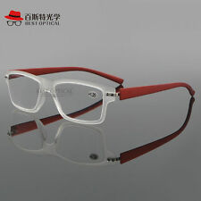 Fashion Light Weight Thin Reading Glasses PC Frames & Lens +1.00 +1.50~ +3.50