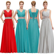 New Long Chiffon Bridesmaid Evening Formal Party Ball Gown Prom Dress Graduation
