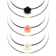 Handmade Chiffon Layered Gothic Choker Collar Necklace Made in Korea