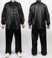 Wushu TaiChi Black Uniform Kung Fu China Tai chi Chuan KungFu uniforms Chinese