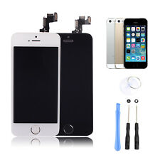 LCD Display Screen Digitizer Replacement Home Button Full Assembly For iPhone 5S