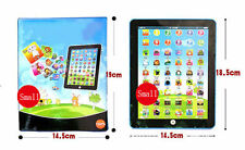 Touch Tablet Pad Computer For Kid Children Learning English Education Teach Toy