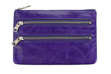 Status Anxiety Women's Molly Wallet - Purple or Red Choose one RRP $55 Leather