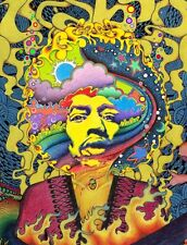 Poster for For Psychedelic Trippy Art Silk Fabric poster