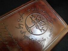 Lord of the Rings - TREE of GONDOR - Re-Fillable A5 Handmade Leather Journal