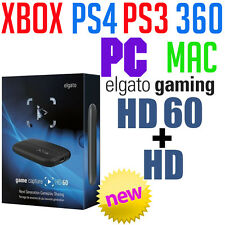 Elgato Game Capture HD60 HD USB High Definition External Gaming Recorder PS4 Wii