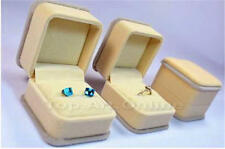 Velvet Jewelry Ring Bracelet Necklace Container Organizer Box Case Holder  Gifts