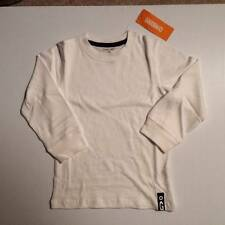 NWT Gymboree Boys Always Soft White Long Sleeve Top Size 3T & 4T