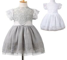 StylesILove Victorian Lace Princess Flower Girl Dress