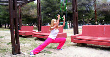 Suspension Training Kit CrossFit Trainer Home Fitness Gym Exercise Easy to Use
