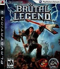 Brutal Legend PS3 Video Game Brand New Sealed Free Shipping