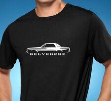 1962 Plymouth Belvedere Muscle Car Tshirt NEW FREE SHIPPING