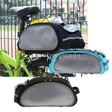 Outdoor Bike Bicycle Cycling Saddle Bag Tail Rear Pouch Seat Luggage Storage Bag