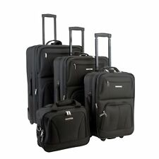 Rockland Luggage F32 4 Piece Expandable Rolling Luggage Set