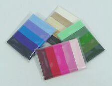Mixed Pack 5 x 2m Lengths Cotton Bias Binding 25mm / 1 inch - 4 Colour Ranges