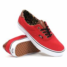 """VANS """"ERA 59"""" (C&L) (RED/LEOPARD) (VN-0UC6811) (SIZE 11) -FREE SHIPPING-"""