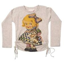 PAPER WINGS - GIRLS SZ 2 AND 3yrs SUPER CUTE DRAWSTRING TEE - NWT RRP: $54.95